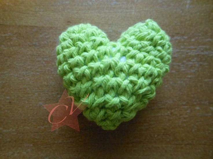 3D Crochet Heart Tutorial
