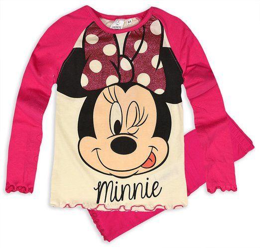 Ropa de descanso para niñas de Minnie Mouse de Disney pijama infantil con forma…