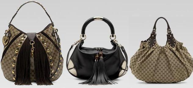 Značkové kabelky Guess, Coccinelle, Ghibli, Louis Vuitton, Prada a Gucci (http://www.luxurymag.cz)