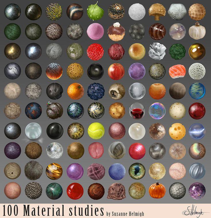 Material studies. by Suzanne-Helmigh.deviantart.com on @deviantART