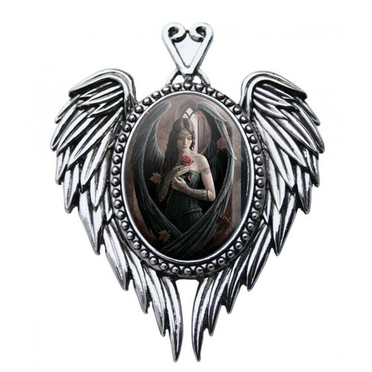 Cameo Pendant - Anne Stokes - Angel Rose