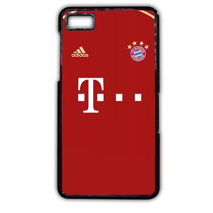 Bayern Munchen Jersey 1 Phonecase Cover Case For Blackberry Q10 Blackberry Z10