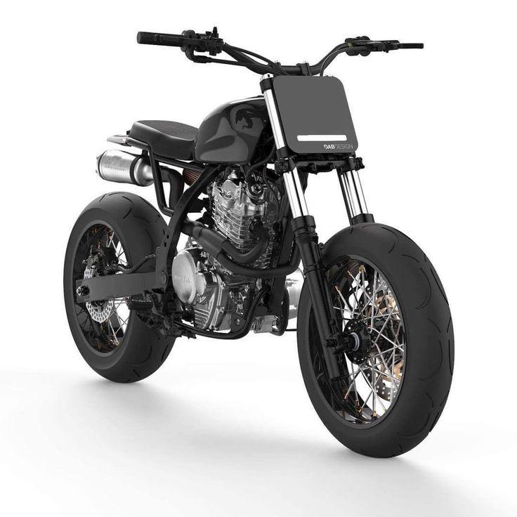 "Honda NX650 Street Tracker ""LM-0"" - DABdesign #motorcycles #streettracker #motos | caferacerpasion.com"