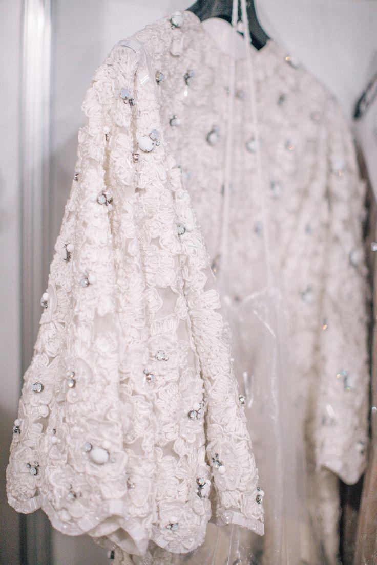 Bohemian Bride / Backstage at Houghton Spring 2016 / Barcelona Bridal Week (Photo: The LANE)