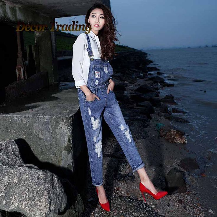 #aliexpress, #fashion, #outfit, #apparel, #shoes 2016, #<font><b>Summer</b></font>, #Spring, #BF, #Style, #Denim, #Jumpsuits, #<font><b>Women's</b></font>, #Overalls, #Pants/, #Ladies', #Ripped, #Jeans, #Gallus, #Rompers/Female, #Suspender, #936 http://s.click.aliexpress.com/e/3z7EAUZFi