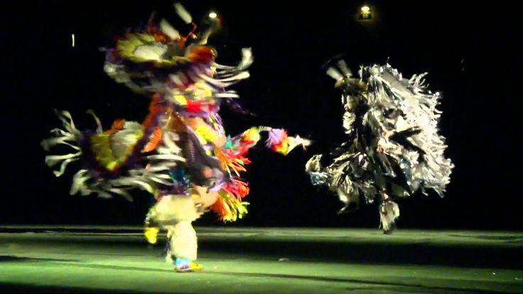 SEMI FINAL 1 - Mens Fancy Spotlight Special - Northern Lights Casino Powwow 2011 play 1:00