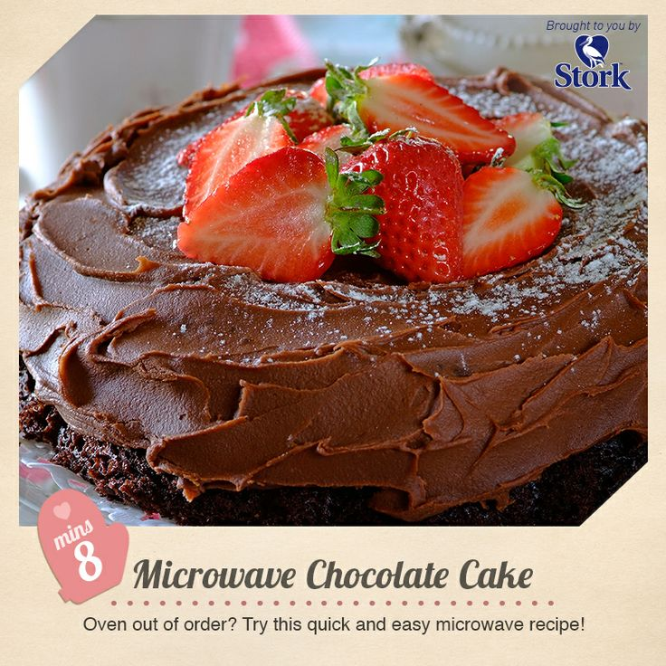 Microwave chocolate cake #recipe