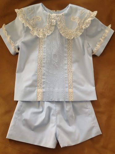Catheryn Collins' Heirloom Creations: Boy Outfits