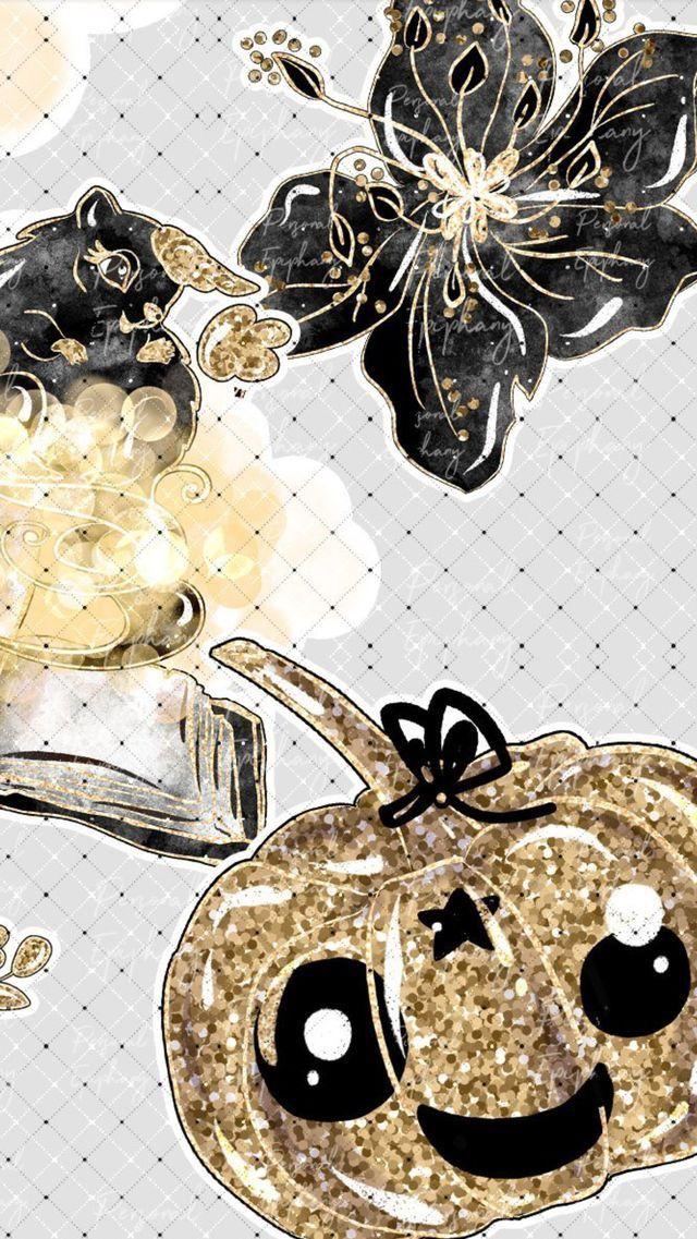 Pin By Soph Angel On Cute Halloween Wallpaper Halloween Wallpaper Kawaii Wallpaper Iphone 7 Plus Wallpaper