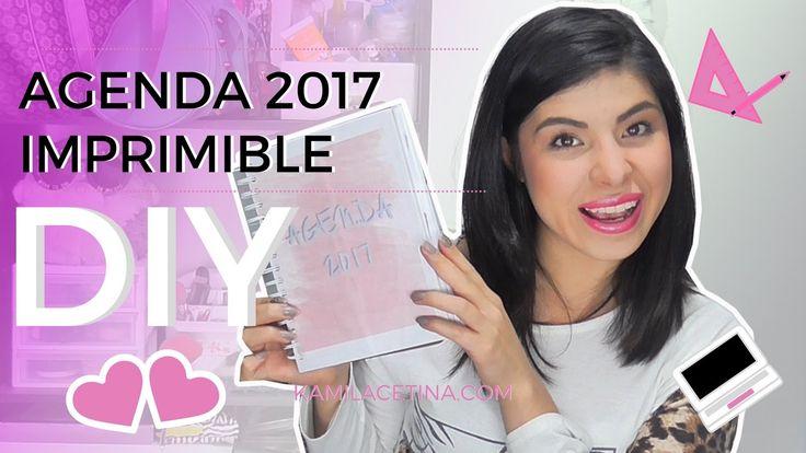 DIY Agenda 2017 IMPRIMIBLE GRATIS!!