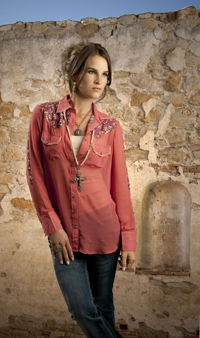 Tasha Polizzi Mojave Shirt from Smith and Western www.maverickstyle.net
