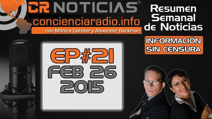 @EPN @ARISTOTELESSD RT @concienciaradio: CR NOTICIAS EPISODIO 21 FEBRERO 26 2015: http://youtu.be/9tEI9aqM-Hk?a