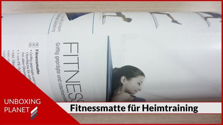 Unboxing Video über Fitnessmatte für Heimtraining #unboxing #video #fitnessmatte #heimtraining