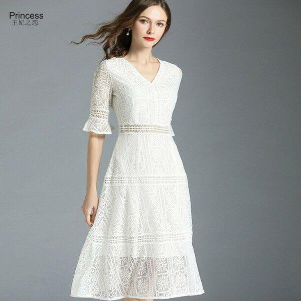 Abiti Morbidi Eleganti.Dettagli Su Elegante Vestito Abito Corto Scampanato Bianco Morbido