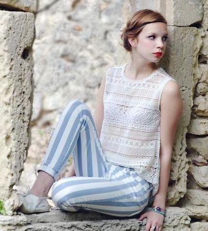 Çizgili Kıyafetler Nasıl Giyilir? - http://pemberuj.net/arsiv/88694/cizgili-kiyafetler-nasil-giyilir/