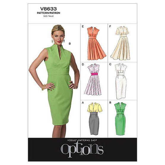 Mccall Pattern V8633 14-16-18-2-Vogue Pattern