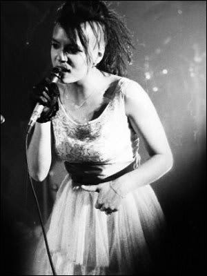 Annabella Lwin from Bow Wow Wow.
