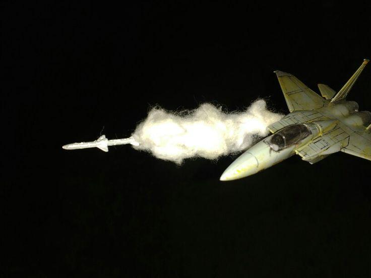 F-15 shooting