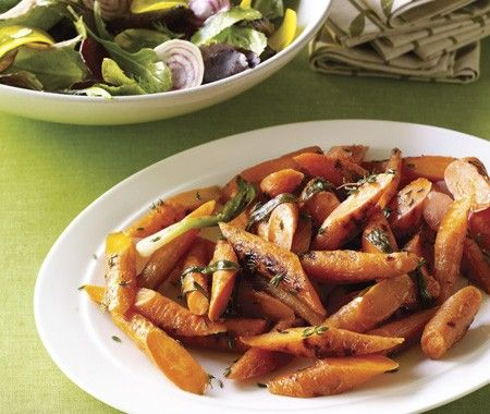 House Home Photo Grilled Carrot Salad Recipe
