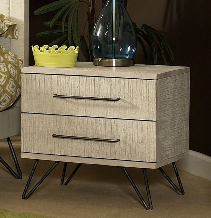Jackson 2 Drawer Nightstand | Ligna Furniture | Home Gallery Stores