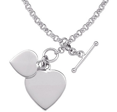 Wear your heart around your wrist with this beautiful sterling silver bracelet from Limoges®.