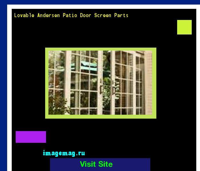 Lovable Andersen Patio Door Screen Parts 172048 - The Best Image Search