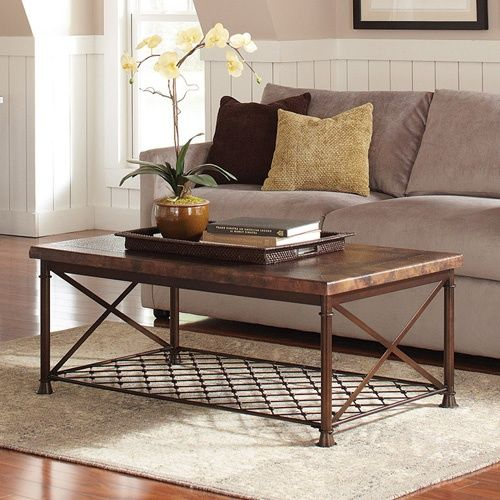 Copper Top Rectangular Coffee Table: Best 25+ Copper Coffee Table Ideas On Pinterest