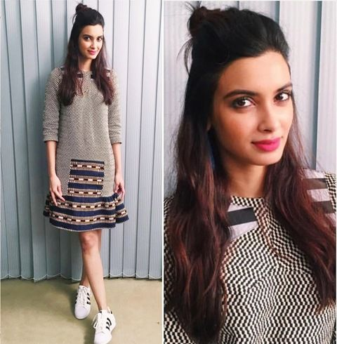 Diana Penty In Amit Aggarwal | #Bollywood #Celebrities #Fashion