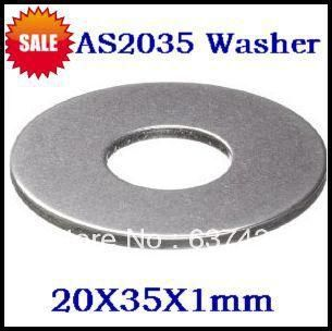 [Visit to Buy] 100pcs/lot  AS2035 washer for thrust needle roller bearing  20X35X1mm  thrust bearing washer #Advertisement