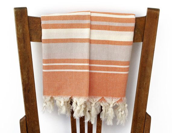 Hand Towel Set PESHKIR Two Turkish Towel Tea Towel by CottonCocoon, $22.00