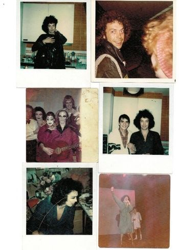 Pictures from the making of rocky horror picture show