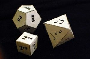 Printable Musical Dice  need to add eighth notes, half rest and whole rest to the 8 sided dice.