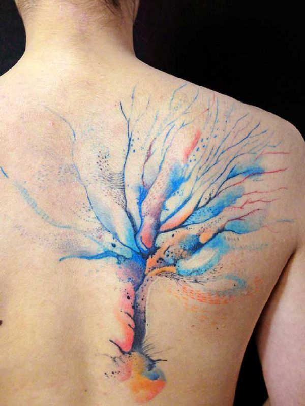 25 best ideas about watercolor tattoo tree on pinterest leg band tattoos gymnastics tattoo. Black Bedroom Furniture Sets. Home Design Ideas