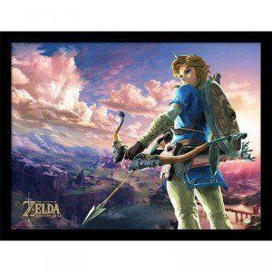 Cadre Zelda BOTW Hyrule Scene