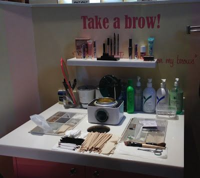 The Benefit Brow Bar At Myer Melbourne Floor Plan