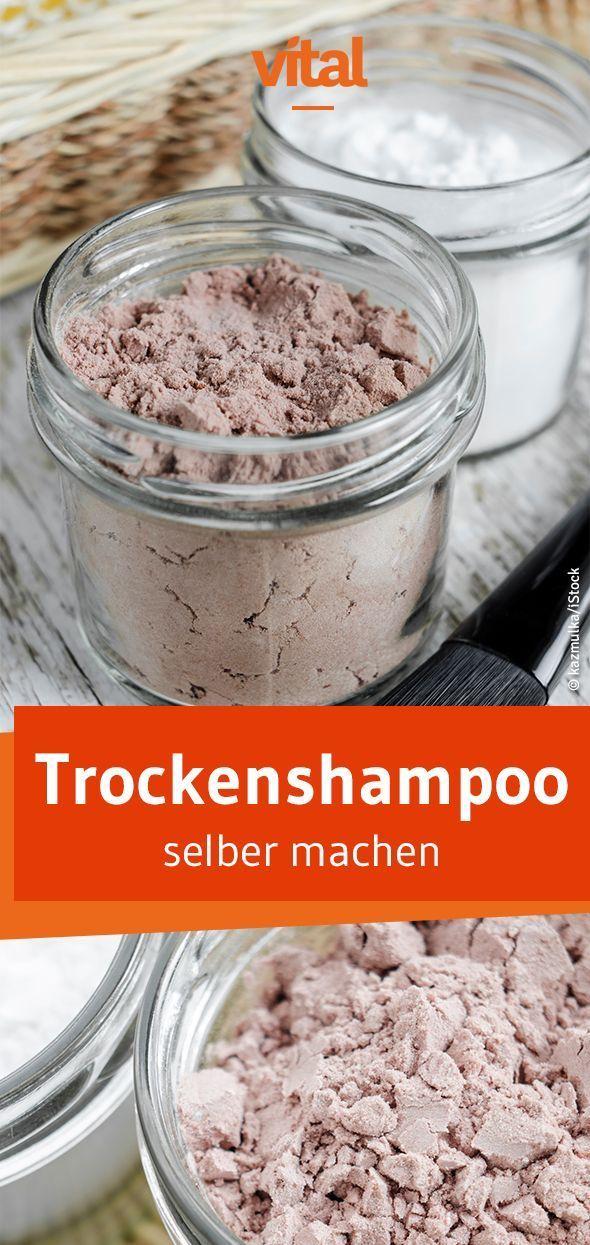 DIY Naturkosmetik: Rezept für Trockenshampoo
