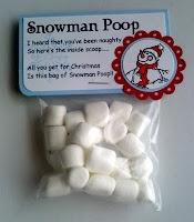 RJ Secret santa - Snowman Poop