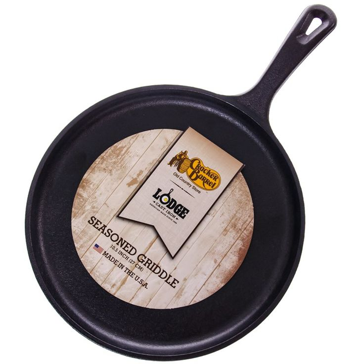 "Lodge 10.5"" Cast Iron Griddle 