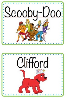 Great book labels for when organizing library....next summer?