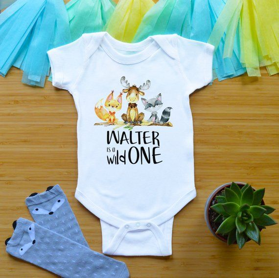 2eb91b746c48b Personalized 1st Birthday Outfit For Boy