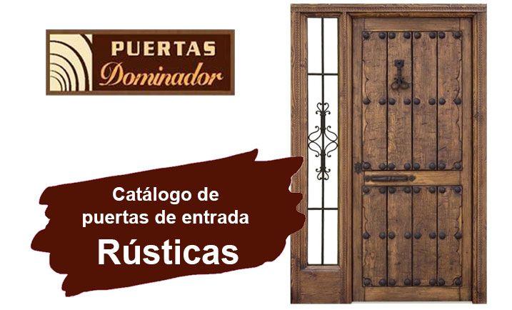 Mejores 26 im genes de puertas de entrada r stica en - Puertas de entrada de madera rusticas ...