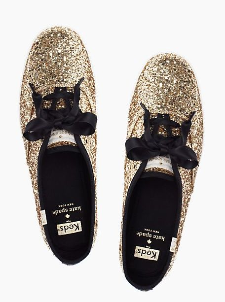glittery Keds for Kate Spade. I'm going to need a pair of these!