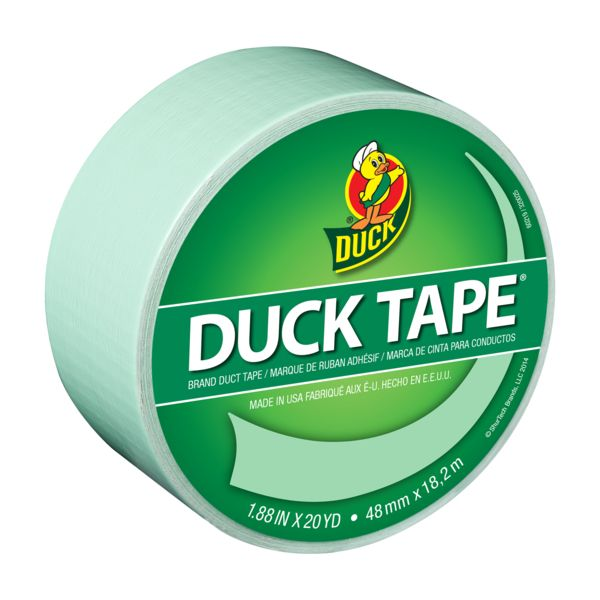 Color Duck Tape® - You're a Sage http://duckbrand.com/products/duck-tape/colors/standard-rolls/sage-188-in-x-20-yd?utm_campaign=color-duck-tape-general&utm_medium=social&utm_source=pinterest.com&utm_content=color-duct-tape