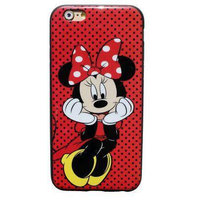 """Купить Резиновый чехол для iphone 6 Disney """"Mickey Minnie Mouse"""""""