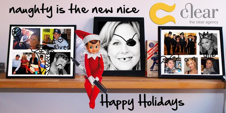 Clear Agency Staff, Holiday Greeting #theclearagency #seasonsgreetings