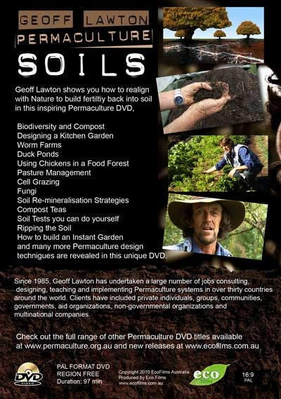 Permaculture soils dvd incredible dvd and the backbone for Soil our life