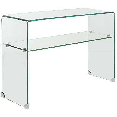 Safavieh Home Collection Hollis Clear Console Table ** Read more reviews of the product by visiting the link on the image. (This is an Amazon Affiliate link and I receive a commission for the sales)