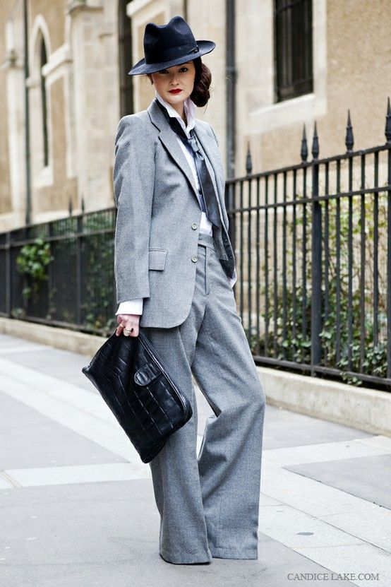 120 best images about **WOMEN IN SUITS on Pinterest | Jean paul ...
