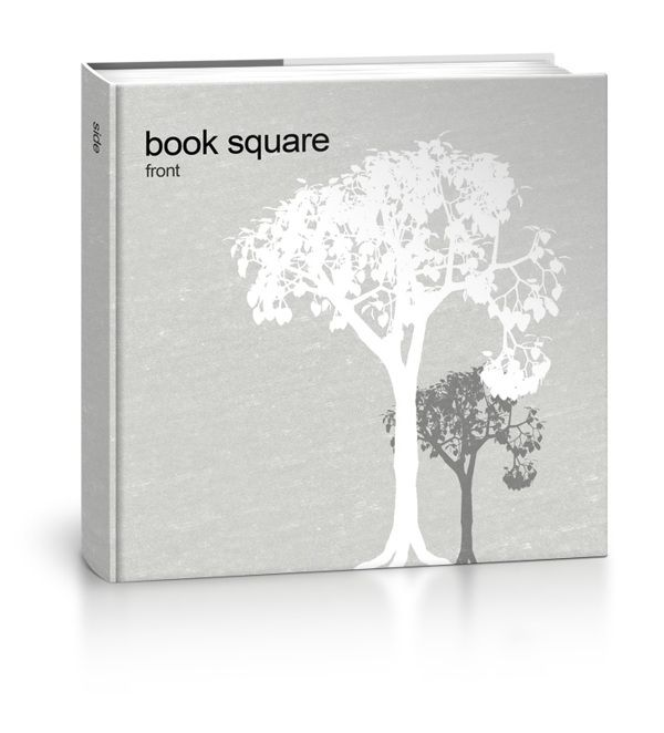 Book Square - Free Mock-up by Sergio Valle, via Behance
