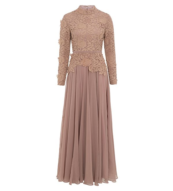 Rose Maya Evening Gown - £89.99 : Inayah, Islamic Clothing & Fashion, Abayas, Jilbabs, Hijabs, Jalabiyas & Hijab Pins